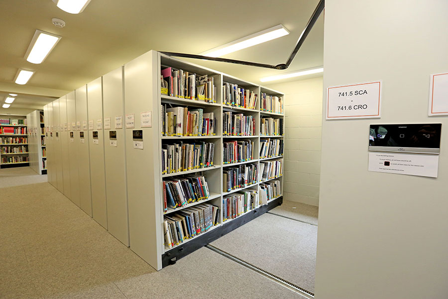 university_for_creative_arts_accessible_mobile_shelving